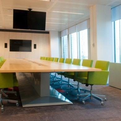 CRH Europe boardroom